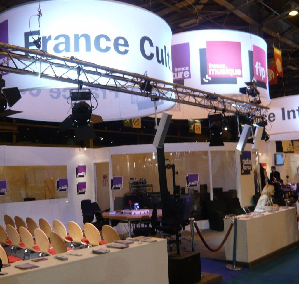 France Culture Salon du livre