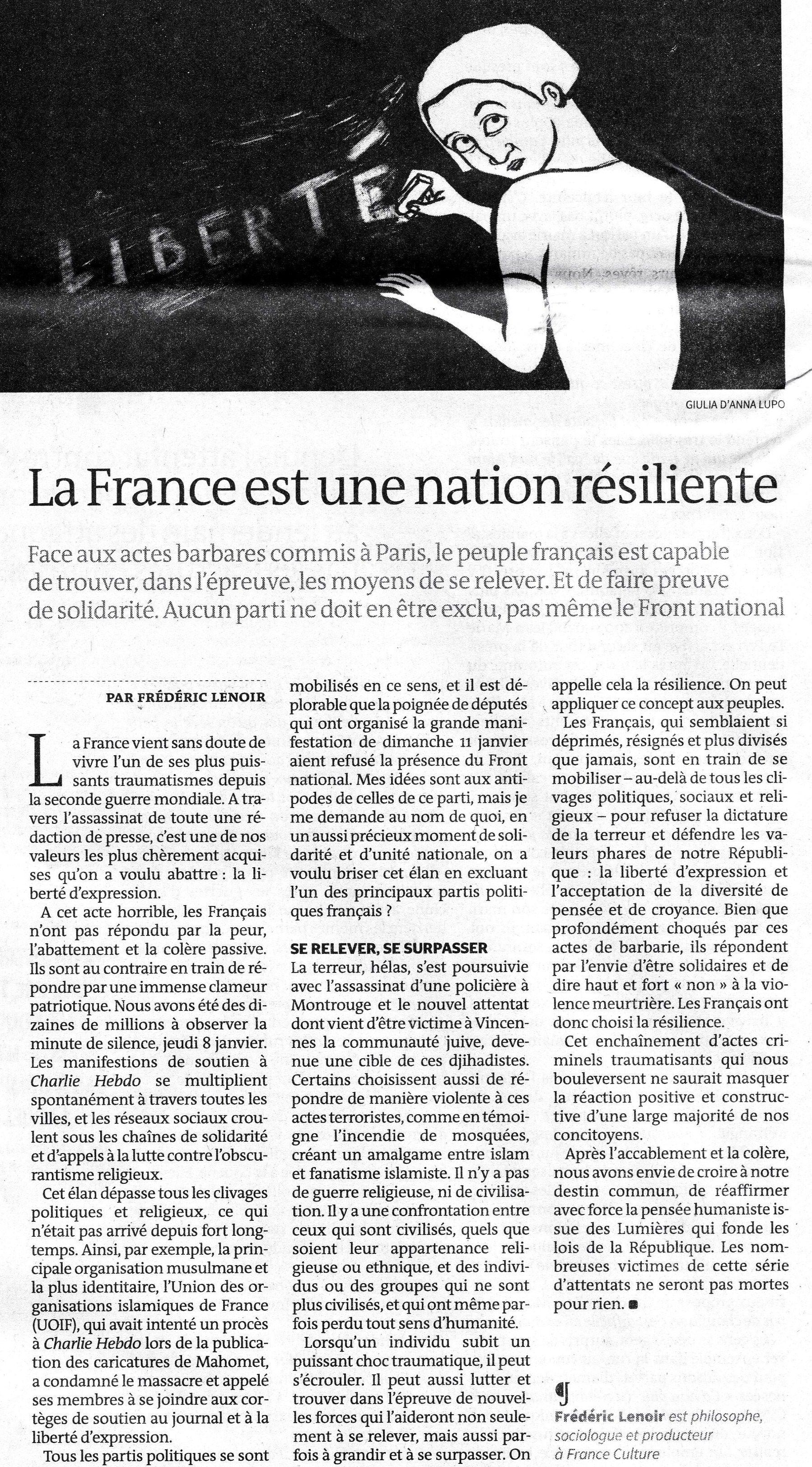 Le Monde11janv2015
